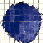 "Ideal Forms- Blue, 2001--75"" x 66.5"""
