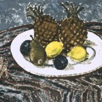 "Two Pineapples, 1994-- 29"" x 41"""