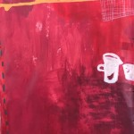 """untitled (or Still Life in Red Room), 2020 -- 70"""" x 46"""""""
